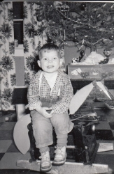 Terry Goresky Christmas 1955