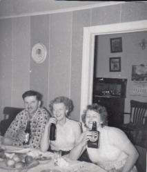 Nick, Sheila and Betty Goresky