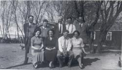 Isidore, Victor, William Gora, Nick, Norman; Vickie, Olympia, Allan, Jean