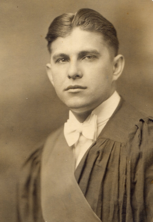 Victor, 1929 graduation from medical school