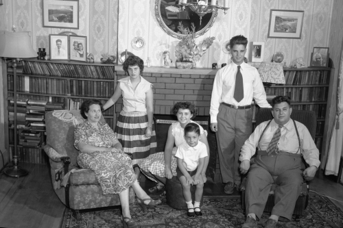Victor's family, 1951